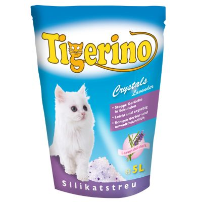 Tigerino Crystals Lavender Cat Litter