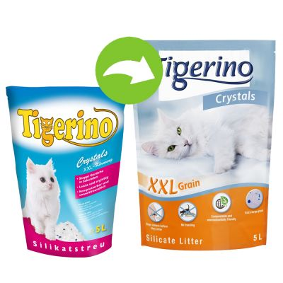 Tigerino Crystals Silicate XXL Cat Litter
