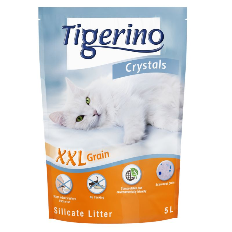 Tigerino Crystals XXL kattsand