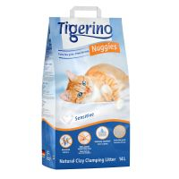 Tigerino Nuggies Ultra Kattenbakvulling - Sensitive (parfumvrij)