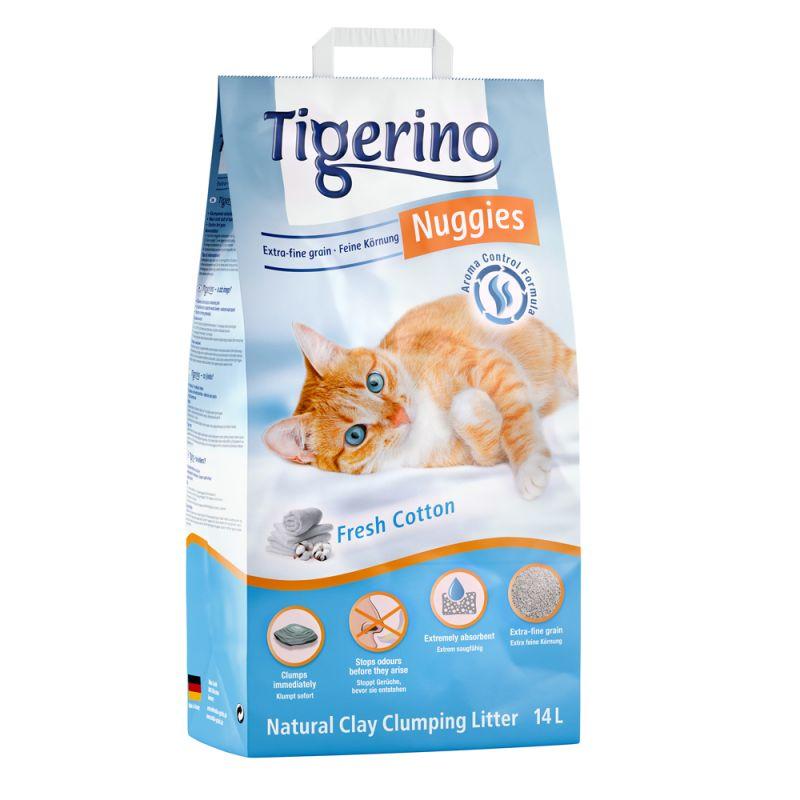 Tigerino Nuggies Ultra kattströ - bomullsdoft