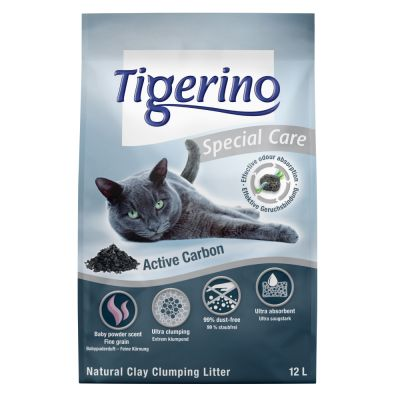 Tigerino Special Care Active Carbon arena aglomerante