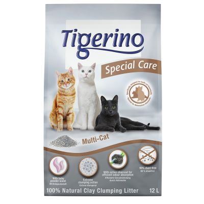 Tigerino Special Care -kissanhiekka - Multi-Cat