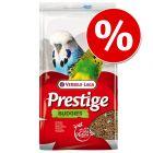 Tijdelijk 10% korting op 4 kg Prestige Grasparkiet