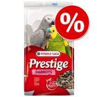 Tijdelijk 10% korting! Op 3 kg Prestige Papegaai