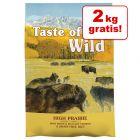 Tijdelijke aanbieding! 12.2 + 2 kg gratis Taste of the Wild Hondenvoer