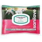 Toallitas higiénicas Sanilove para cães e gatos