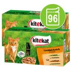 Topseller-pakke: 96 x 100 g Kitekat portionsposer