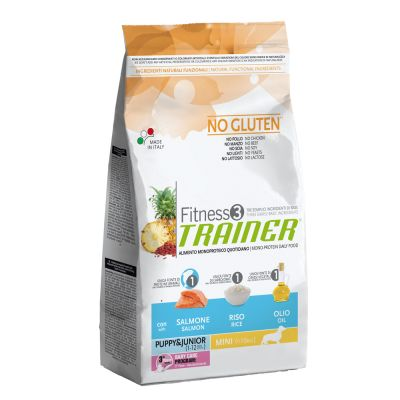 Trainer Fitness 3 Puppy &  Junior Mini Salmone