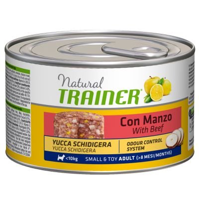 Trainer Natural Adult Small & Toy 12 x 150 g