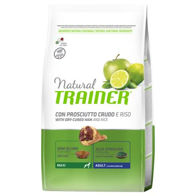 Trainer Natural Maxi Adult Prosciutto Crudo & Riso