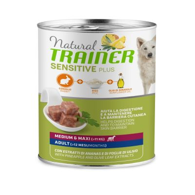 Trainer Natural Sensitive Plus Adult 24 x 400 g