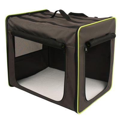 Transportbox First Class Basic + Hondendeken Fleece Pawty