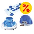 Trixie Cat Activity Set: Brain Mover + Snack Box + Tunnel Feeder