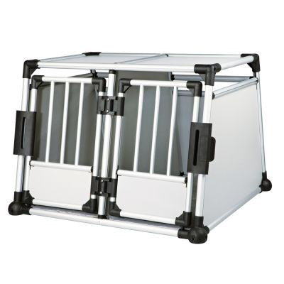 Trixie Aluminium Double Transport Box