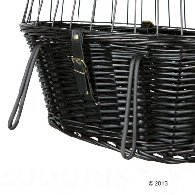 Trixie Bicycle Basket - Black