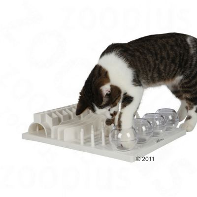 Trixie Cat Activity Fun Board juego de inteligencia para gatos