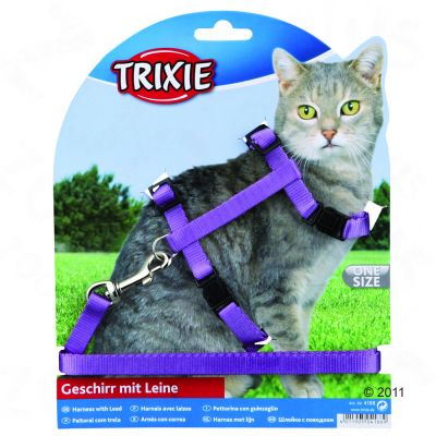 Trixie Cat Travel Set with Snap Buckles