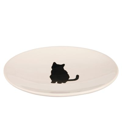 Trixie Ceramic Dish with Cat Design
