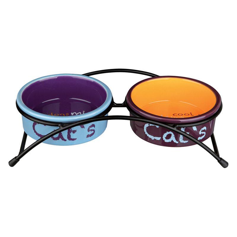 Trixie Eat on Feet keramikskålar i set