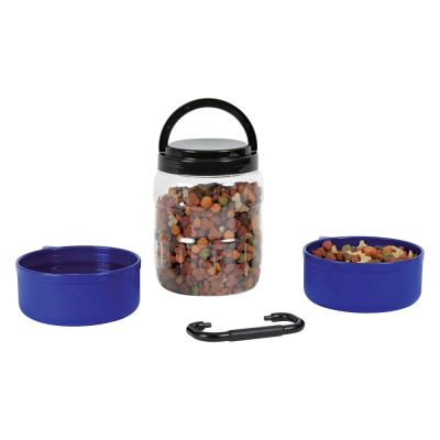 Trixie Food Container Travel Set + 2 Bowls
