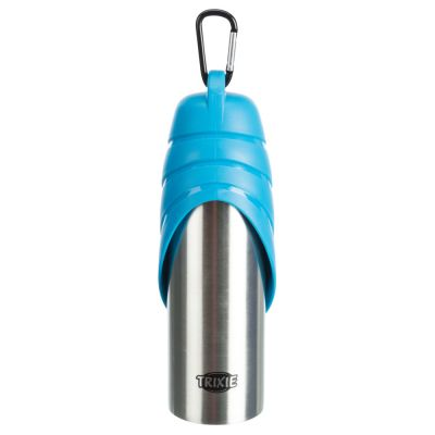 Trixie Friends on Tour Steel Travel Bottle and Bowl