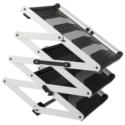 Trixie Friends on Tour 3-step Folding Stairs Aluminium/TPR