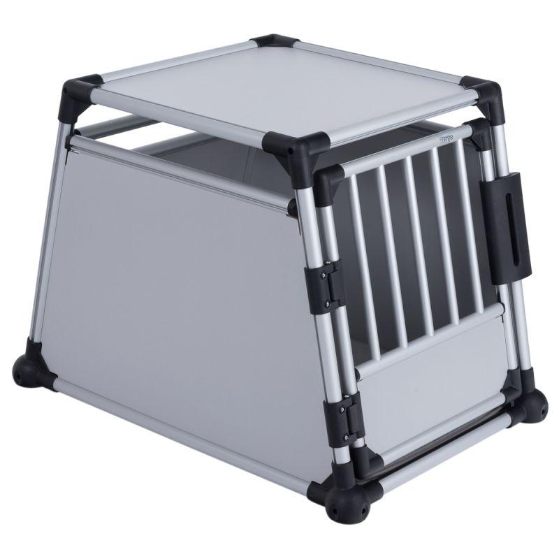 Trixie Hondenbench Aluminium - Lichtgrijs