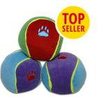Trixie Hundespielzeug Bunte Spielbälle