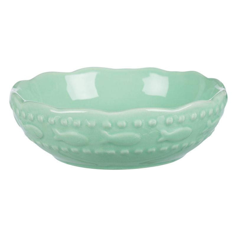 Trixie keramikskål med fiskmotiv