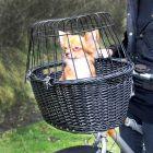 Trixie košík na kolo černý