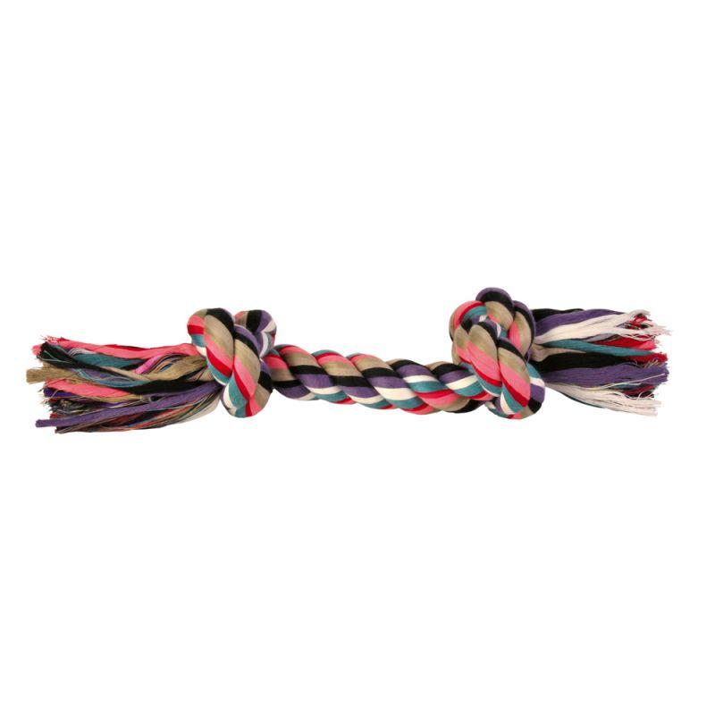 Trixie kolorowa lina do zabawy dla psa