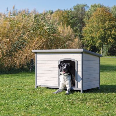 Trixie Natura Classic hundehus med fladt tag