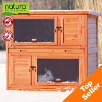 Trixie Natura Hutch 2 in 1 with Insulation