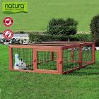 Trixie Natura Outdoor Run with Roof - Rectangle