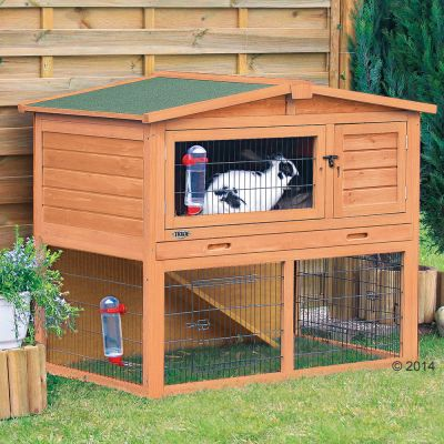 Trixie Natura Small Animal Hutch with Enclosure
