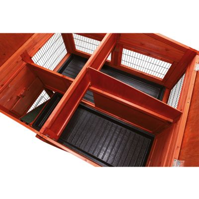 Trixie Natura Small Animal Hutch XL with Run