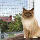 Trixie ochranná síť pro kočky - olivová