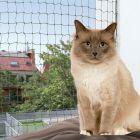 Trixie rede protetora para gatos - verde-escuro