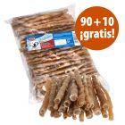 Trixie 100 rollitos masticables para perros en oferta: 90 + 10 ¡gratis!