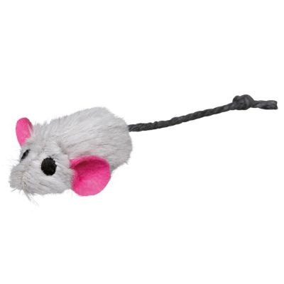 Trixie Toy Plush Mice, 6-pack