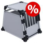 Trixie Transportbox Aluminium zum Sonderpreis!