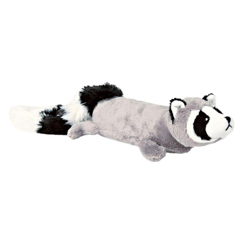 Trixie tvättbjörn i plysch med extra högt ljud