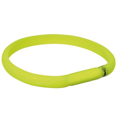 Trixie USB Flash Light Collar - Green