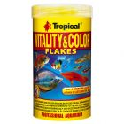 Tropical Vitality & Color Flakes copos para peces ornamentales