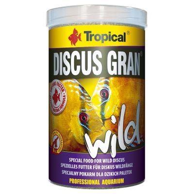 Tropical Discus Wild granulat dla dzikich paletek tanio w zooplus