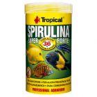 Tropical Super Spirulina Forte 36 % comida en copos para peces