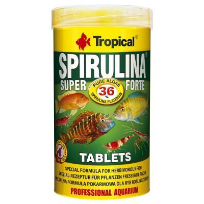 Tropical Super Spirulina Forte Tablets Visvoer