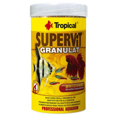 Tropical Supervit Granulat pour poisson