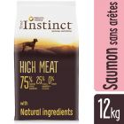 True Instinct High Meat Medium/Maxi saumon, thon pour chien